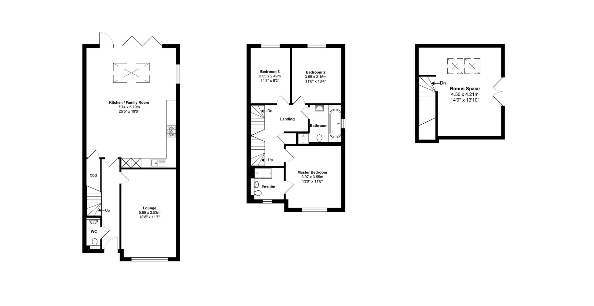 20 Critchmere Hill Floor Plan